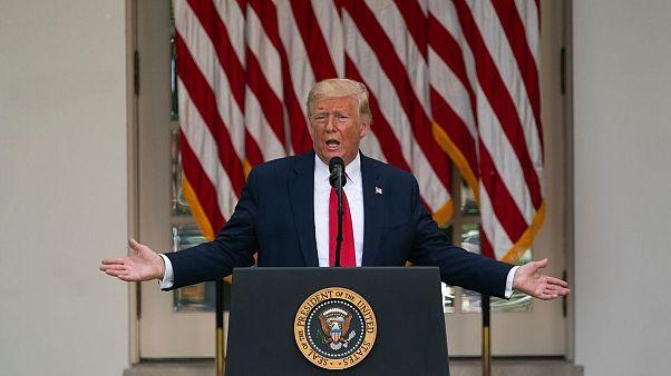 دونابد ترامپ، رئیس جمهوری آمریکا