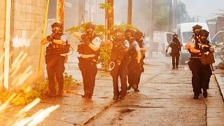 ABD'nin Minneapolis kentinde göstericiler polisle çatıştı
