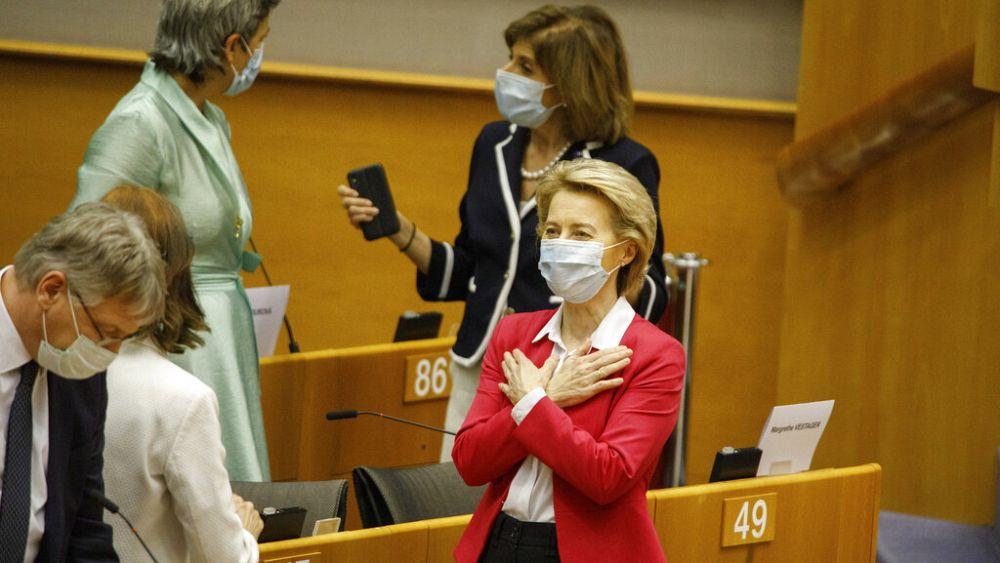 Ursula Von Der Leyen: Europe's next generation will benefit from stimulus...