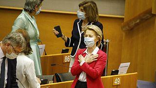 Von der Leyen: bölcs rendszer vigyáz majd az uniós pénzekre