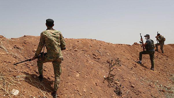 مقاتلون من فيلق الشام