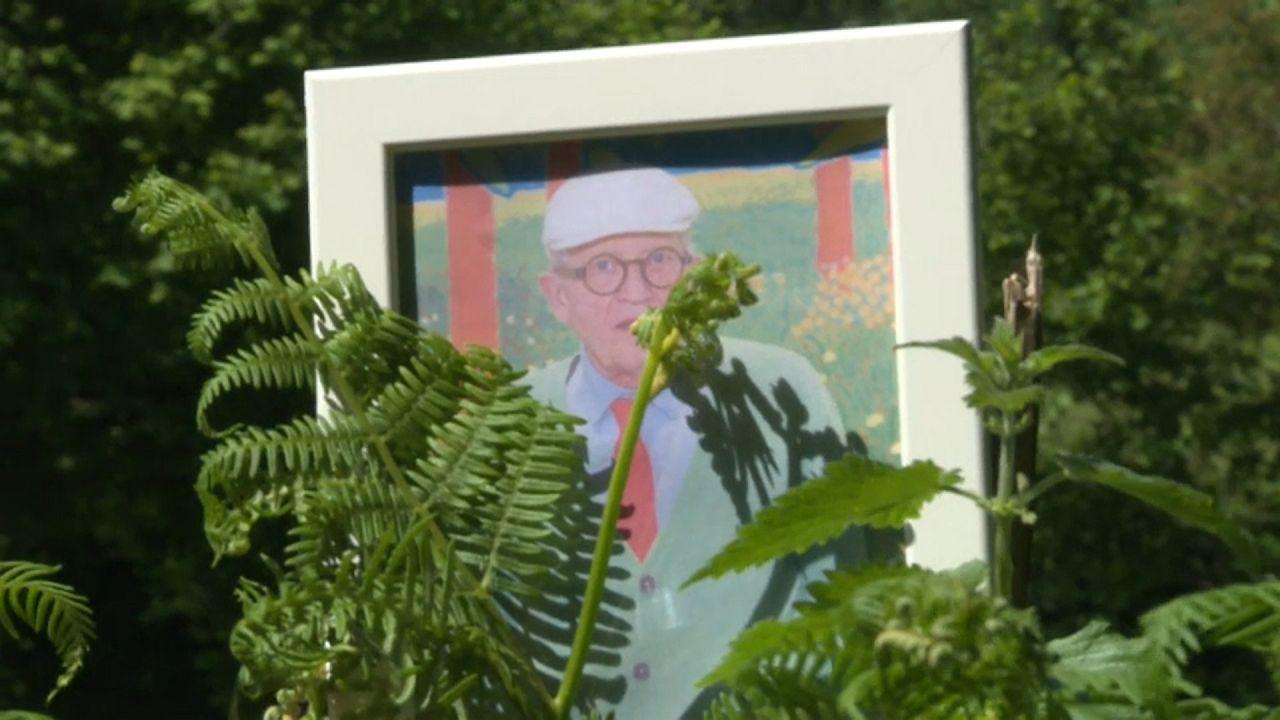 David Hockney in der Normandie