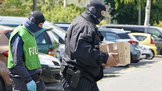 `پلیس آلمان و اسناد جعلی مصادره شده