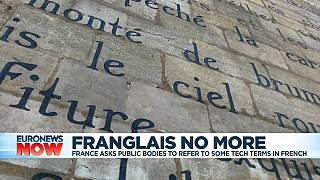 France discourages use of English terms