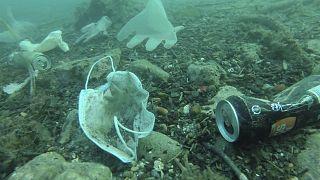 مواد بلاستيكية في قعر البحر جنوب فرنسا - 2020/05/21