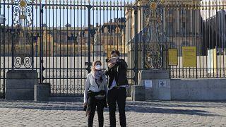 "Filmagens num ""Château de Versailles"" vazio"