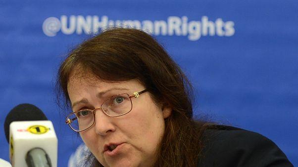 Arnavutluk hükümetine yönelik mektuba imza atan BM yetkililerinden Leigh Toomey