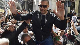 الصحفي الجزائري المعتقل خالد درارني