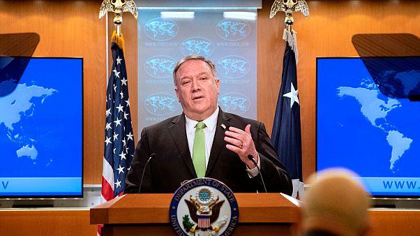 Amerika Birleşik Devletleri (ABD) Dışişleri Bakanı Mike Pompeo