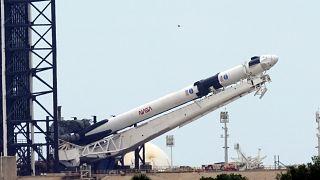 SpaceX en la lanzadera de Cabo Cañaveral