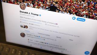 ABD Başkanı Donald Trump'ın resmi Twitter hesabı