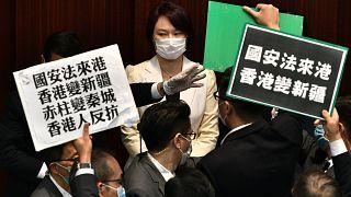 مشرعون معارضون للتدخل الصيني بهونغ كونغ