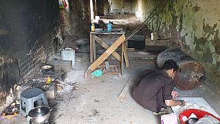 Беженцы в приграничных районах Сербии
