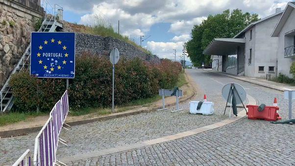 """""""Alles liegt brach"""" - Eurocity Valença-Tui will offene Grenzen"""