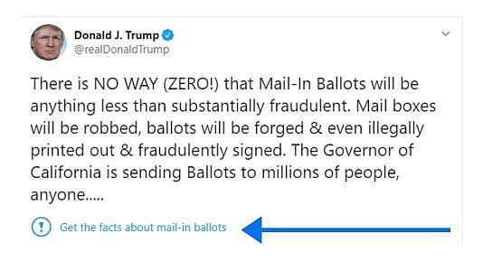 حساب توئیتری دونالد ترامپ