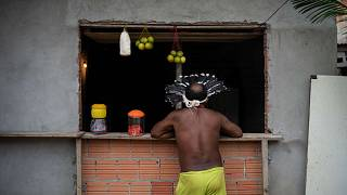 بيدرو دو سانتوس، أحد زعماء السكان الأصليين، البرازيل، الأحد 10 مايو 2020