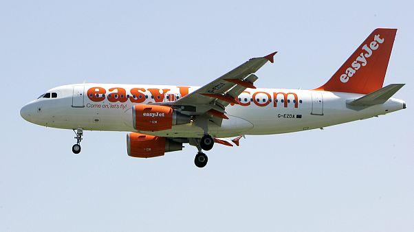 """إحدى طائرات شركة """"إيزي جيت"""" الأوروبية"""