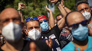 Job losses in Spain spark protests at Nissan's Bercelona plant