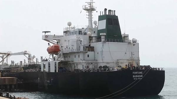 El barco Fortune atraca en Venezuela
