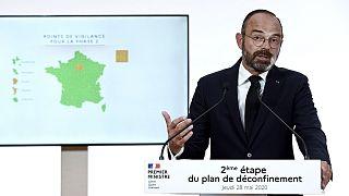 Le Premier ministre français, Edouard Philippe, le 28 mai 2020.