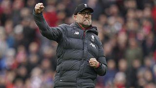 Jurgen Klopp, treinador do Liverpool
