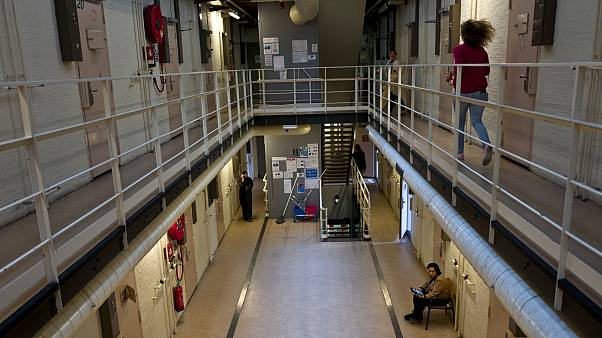 Hollanda cezaevindeki mahkum hücreleri