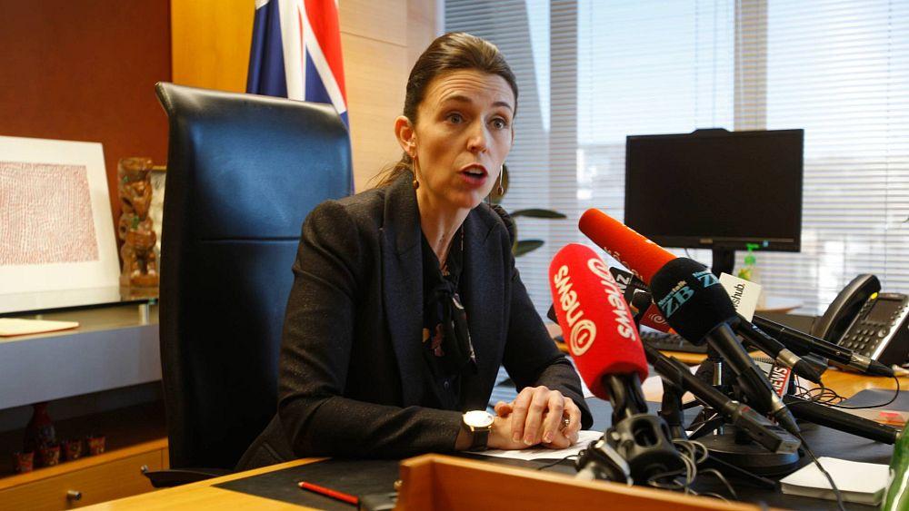 شاهد: زلزال يضرب نيوزيلاندا ورئيسة الوزراء تظل هادئة خلال مقابلة تلفزيونية مباشرة   Euronews