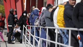 Nevada'da işsizlik başvurusu yapmayı bekleyenler