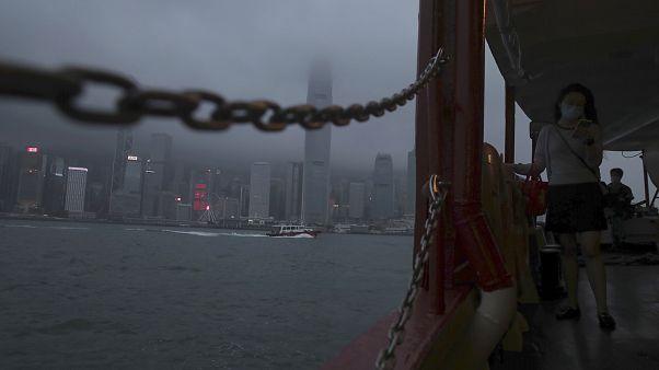 التنقل على متن عبارات في هونغ كونغ - 2020/05/28
