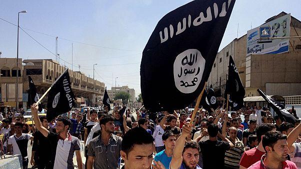 صورة أرشيفية لمناصري تنظيم داعش