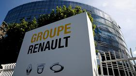 The headquarters of French carmaker Renault outside Paris