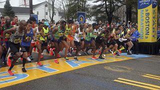 Бостонский марафон в 2019 году