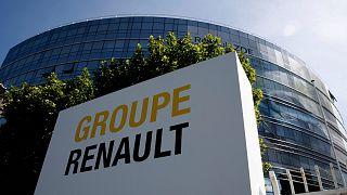 Le siège de Renault à Boulogne-Billancourt - département des Hauts-de-Seine - le 25 mai 2020