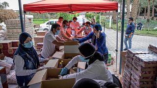 جهود مكافحة فيروس كورونا في مصر