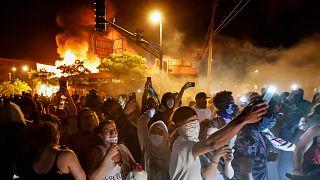 متظاهرو مينيابوليس