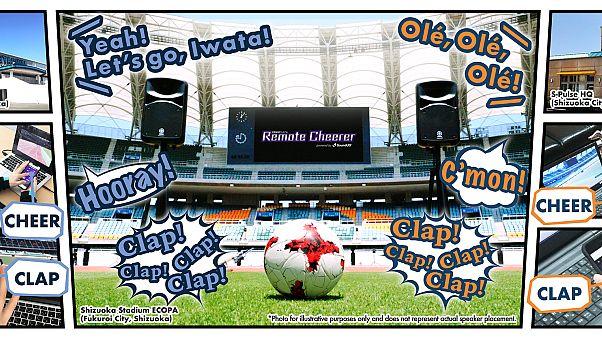 Yamaha firmasının geliştirdiği uygulama ile stadyumların ses sistemlerinden evde maç izleyen seyircilerin tezahürat ve tepkileri aktarılabilecek.