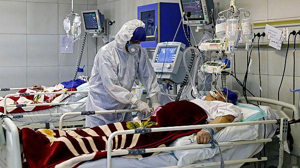 Başkent Tahran'da bir hastane