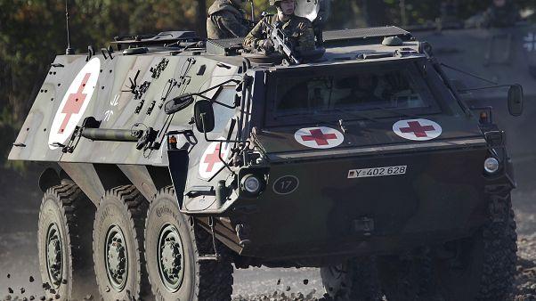 Bundeswehr-Fahrzeug