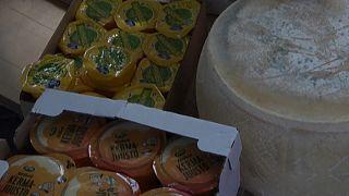Illegal eingeführter EU-Käse