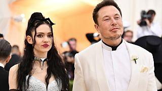 SpaceX CEO'su Elon Musk ile sevgilisi Grimes