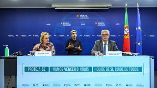 Conferência de imprensa da DGS sobre a covid-19