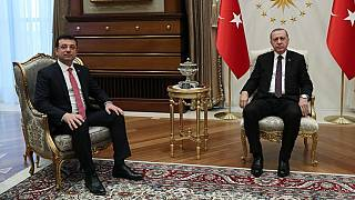 İstanbul Büyükşehir Belediye Başkanı Ekrem İmamoğlu ve Cumhurbaşkanı Recep Tayyip Erdoğan