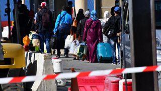 مسافرون مغاربة