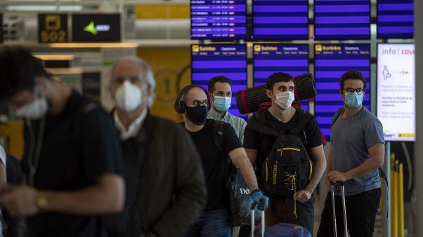عودة السياح إلى إسبانيا