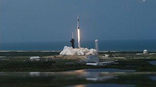 Lancement de la fusée Space X