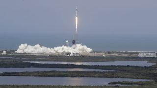 Primera misión espacial tripulada desde Estados Unidos en nueve años