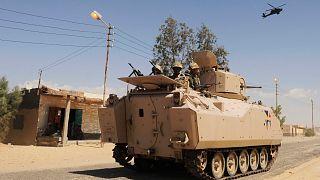 صورة أرشيفية لقوات الجيش المصري في سيناء