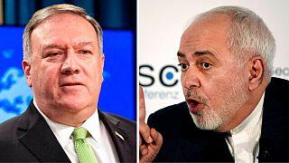 وزرای خارجه ایران و آمریکا