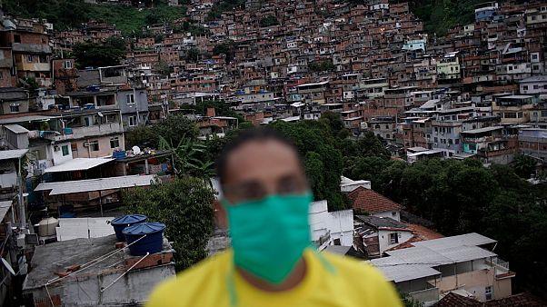 إحدى مدن الصفيح في البرازيل