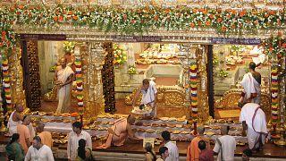 Hindistan'da bir Hindu festivali (arşiv)